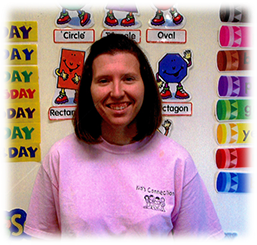 Amanda Spurgeon is the Kid's Connection Lead Teacher is the Preschool I program and a member of the NAEYC
